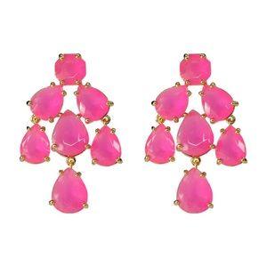 Kate Spade New York Pink Chandelier Earrings